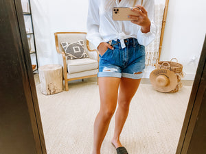 Blue vibes shorts