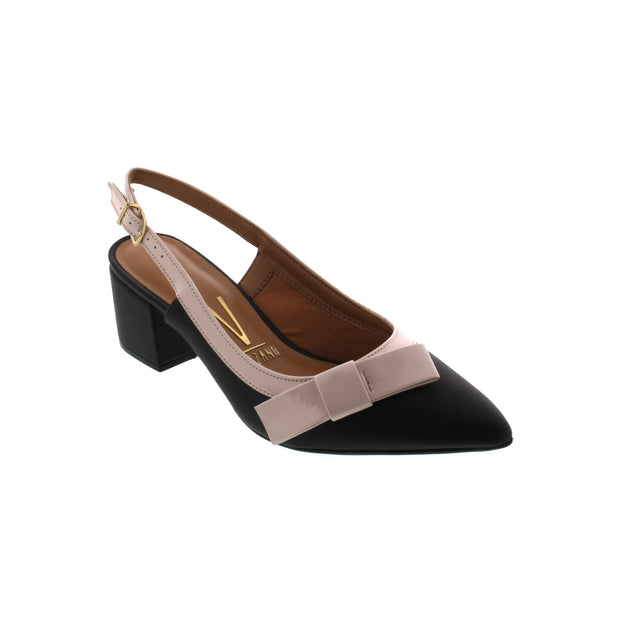 Vizzano 1220-228 Black Slingbacks Brisa Shoes
