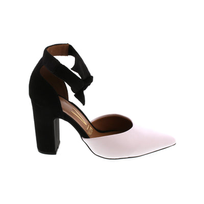 Vizzano 1285-105 Black and White Tie-Ups Brisa Shoes