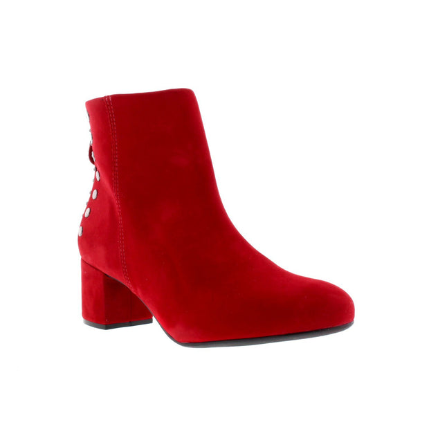 Vizzano 3067-101 Red with Studs Ankle Boots Brisa Shoes