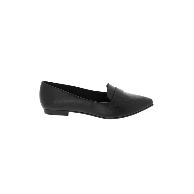 Beira Rio 4136-150 Black Flats Brisa Shoes