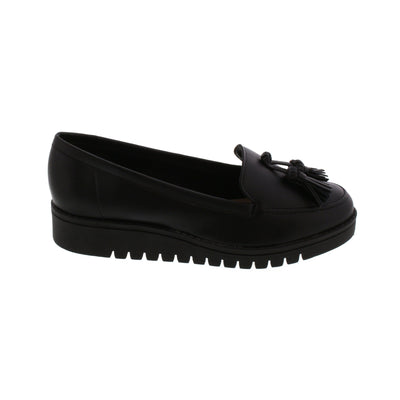 Beira-Rio 4174-325 Black Loafers Brisa Shoes