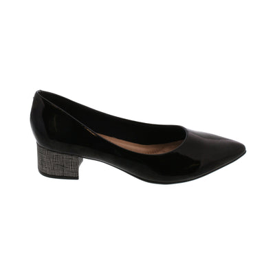 Beira Rio 4182-100 Black Pointy Toes Brisa Shoes