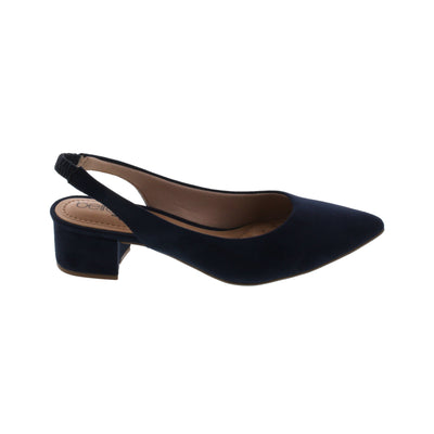 Beira Rio 4182-100 Blue Slingback Pointy Toes Brisa Shoes