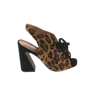 Vizzano 6403-104 Animal Print Laced Sandals Brisa Shoes