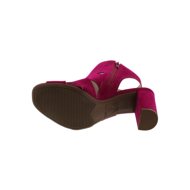 Beira Rio 8399-102 Pink Nobuck Sandals Brisa Shoes
