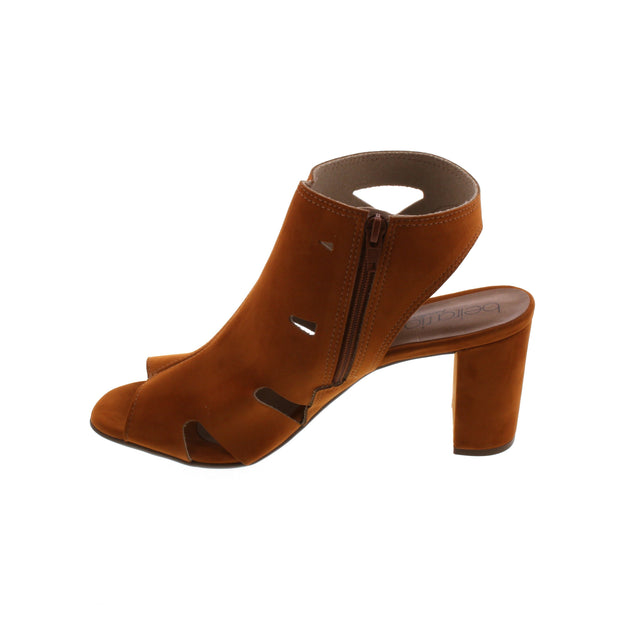 Beira Rio 8399-102 Caramel Nobuck Sandals Brisa Shoes