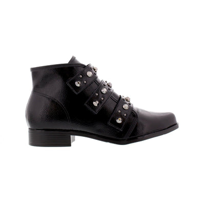 Beira-Rio 9055-104 Black Ankle Boots Brisa Shoes