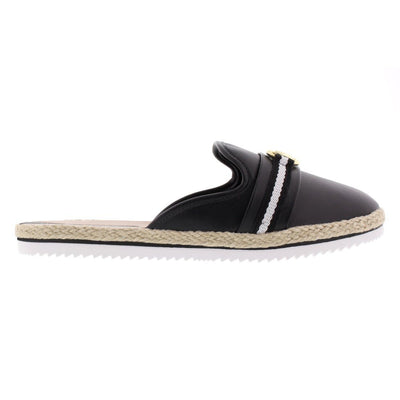 Beira Rio 4216-100 Black Slides Brisa Shoes