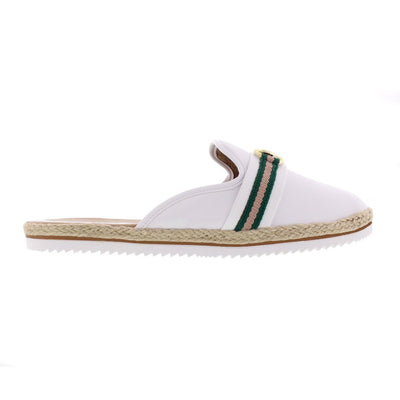 Beira Rio 4216-100 White Slides Brisa Shoes