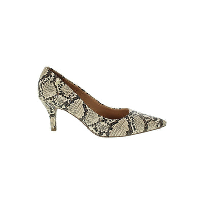 Vizzano 1185-102 Cobra Beige Heels Brisa Shoes