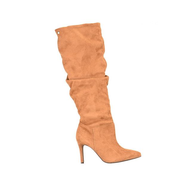 Vizzano 3049-226 Caramel Long Boots Brisa Shoes