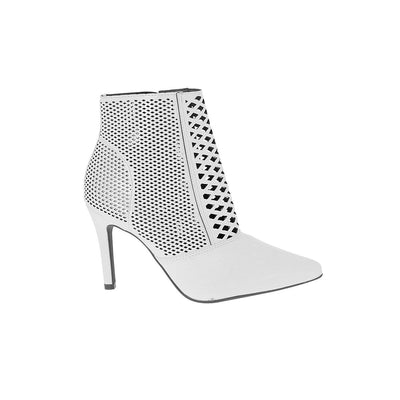 Vizzano 3049-227 White Ankle Boots Brisa Shoes