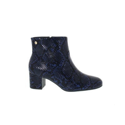Vizzano 3067-103 Blue Cobra Ankle Boots Brisa Shoes