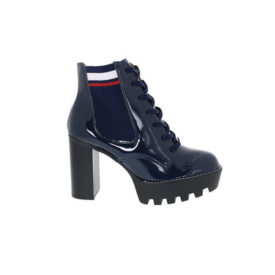 Vizzano 3069-102 Navy Lace-up Ankle Boots Brisa Shoes