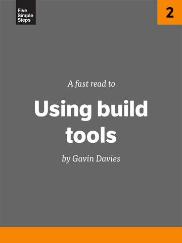 Book: Fast Read - Using build tools