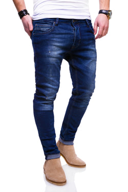 Men's Denim Slim Fit Jeans Blue 3502