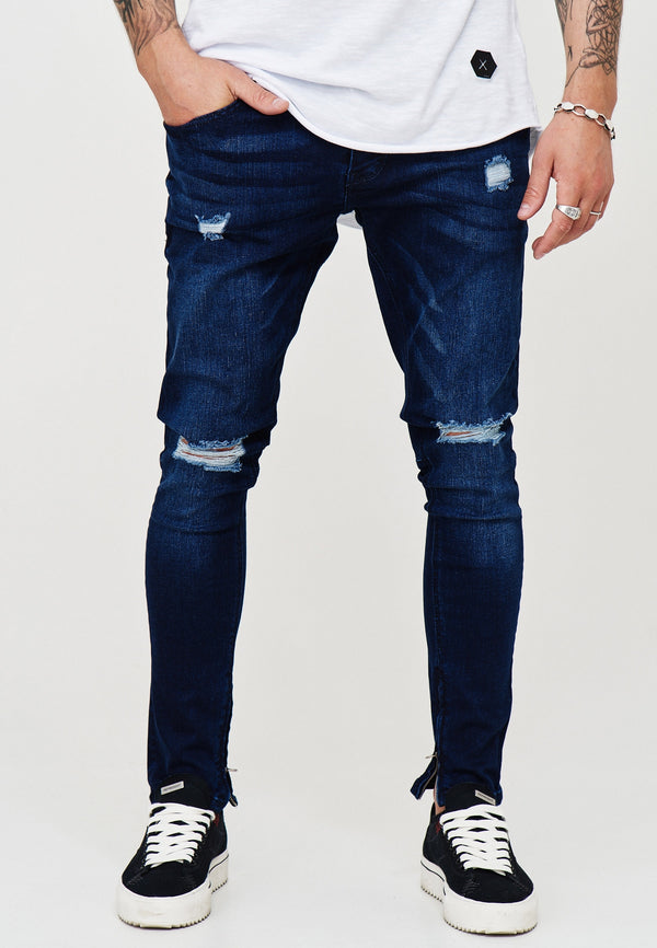 Destroyed Jeans blue 3299