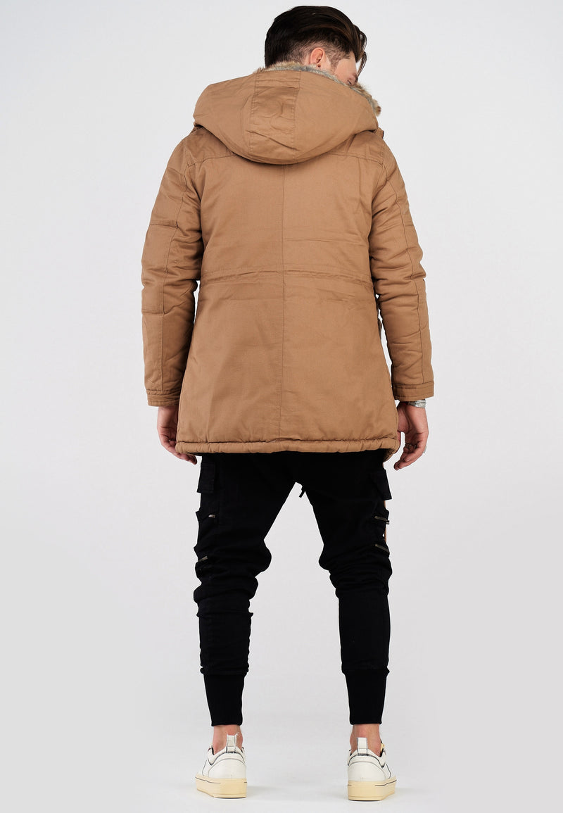 Parka Jacket Brown Tyler