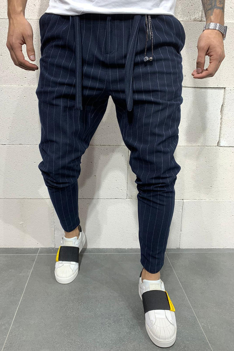 Men's Jogger Pants Navy P1048
