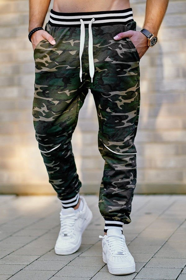 Men's Training Pants Sweatpants Camouflage 52