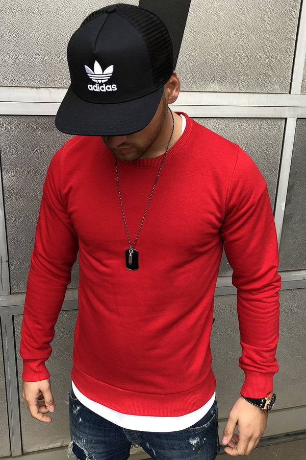 Sweater red 8026