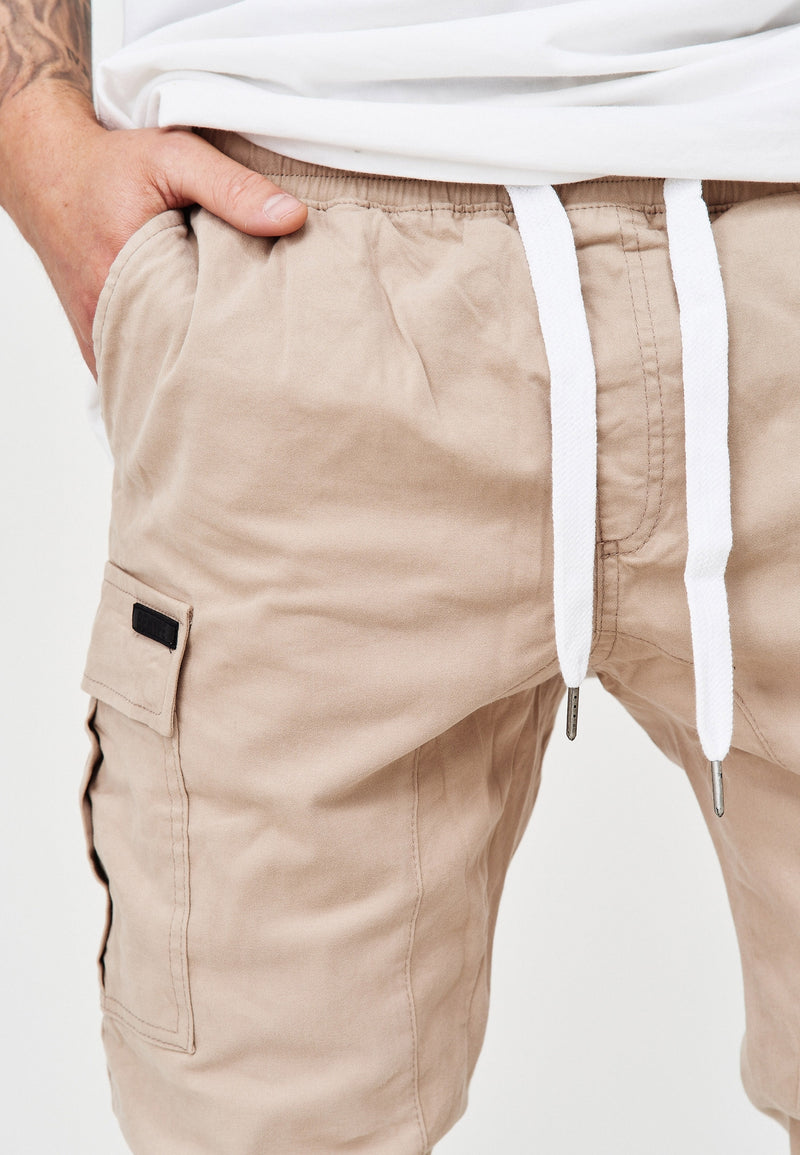 Cargo Jogger Chino beige 3888