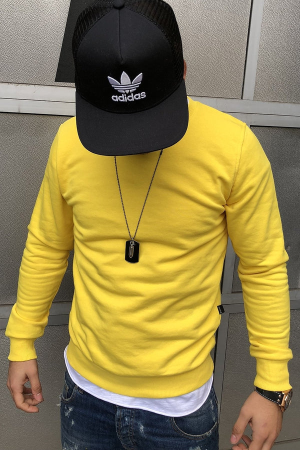 Sweater yellow 8026