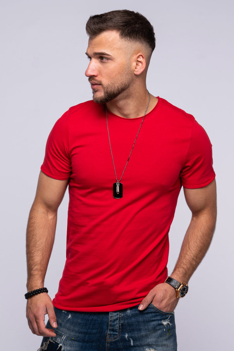 Tee INFINITY O-Neck red