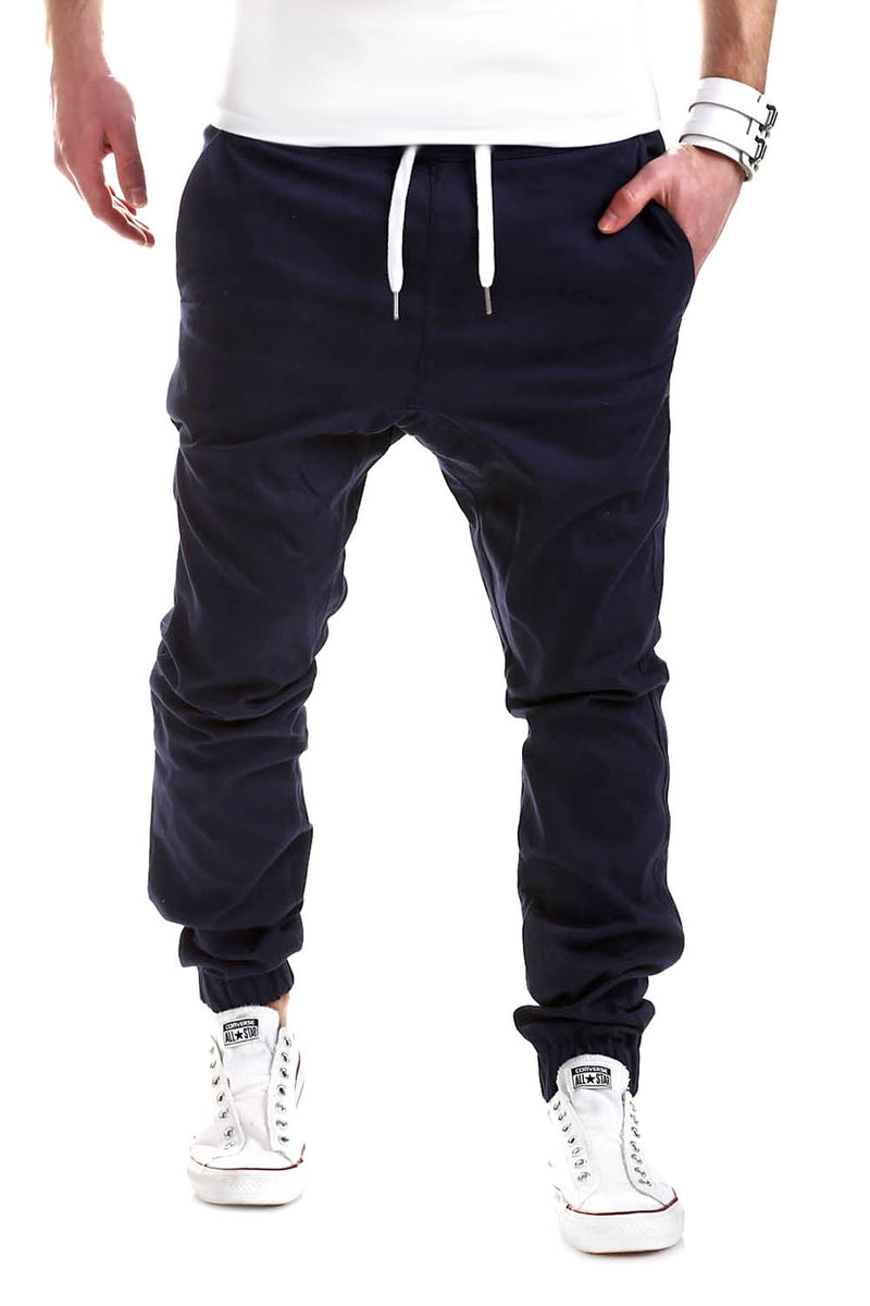 Men's Jogger Chino Pants Navy 60