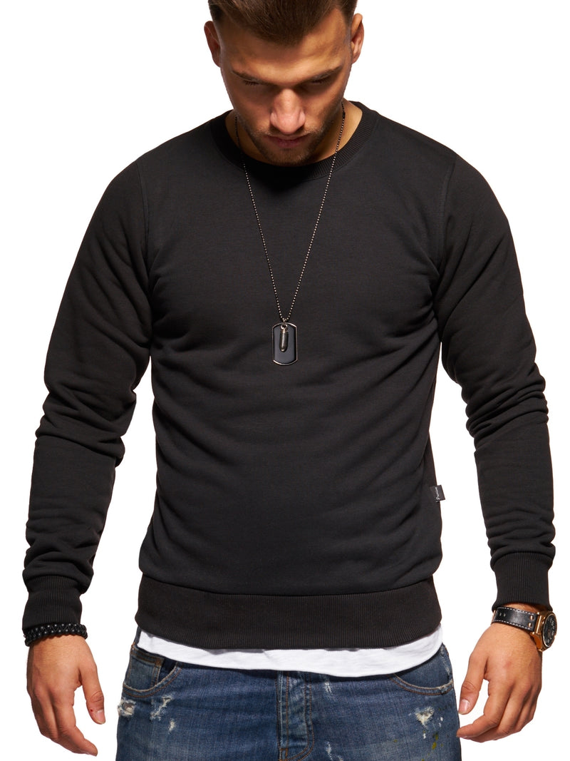 Men's Sweatshirt Black 8026