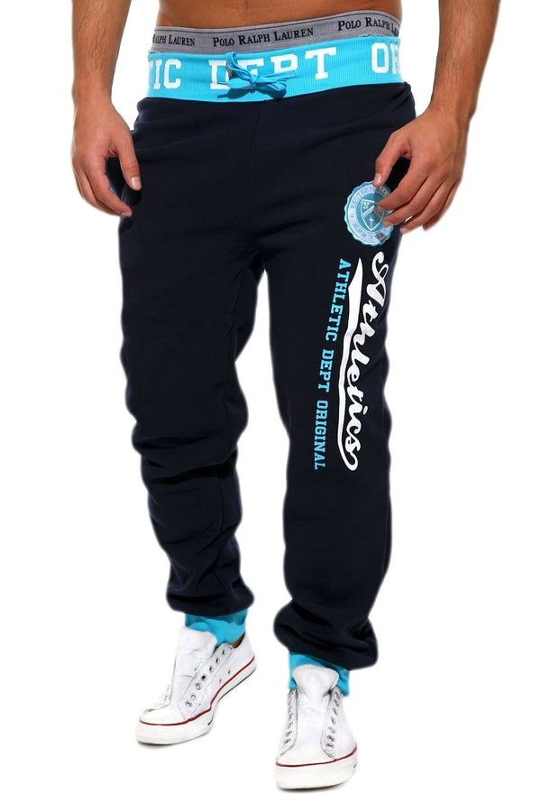 Men's Training Pants Sweatpants Navy-Blue 49