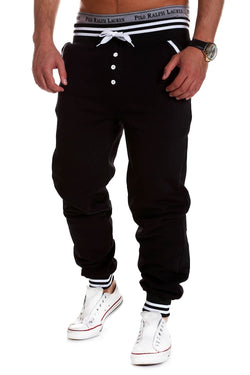 Men's Training Pants Sweatpants Black 53