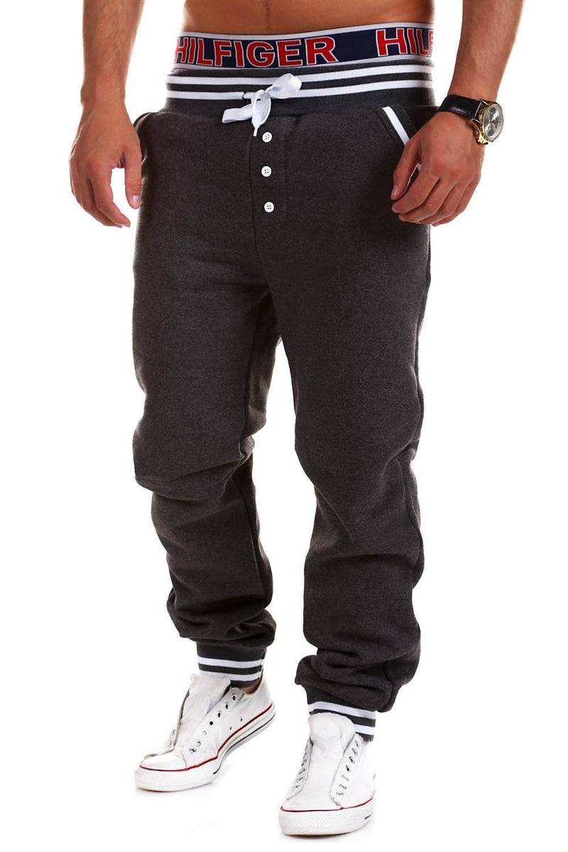 Men's Training Pants Sweatpants Darkgrey 53