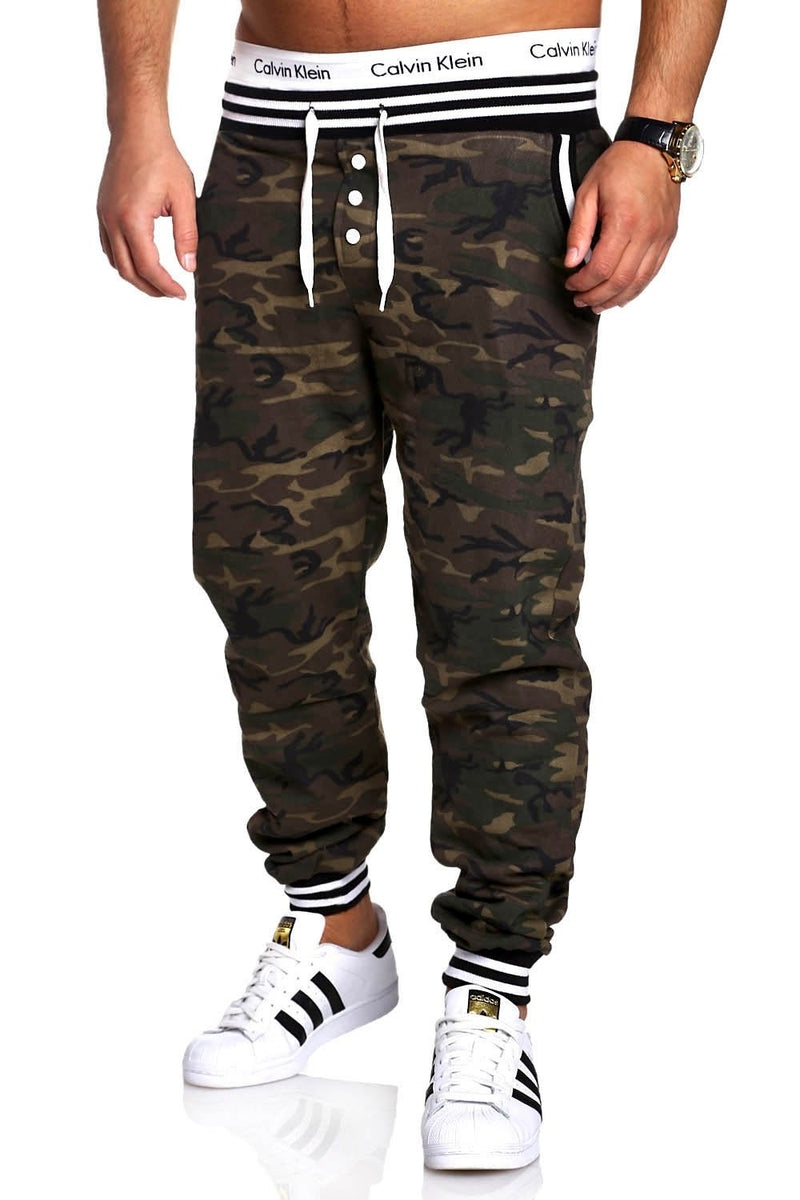 Men's Training Pants Sweatpants Camouflage 53