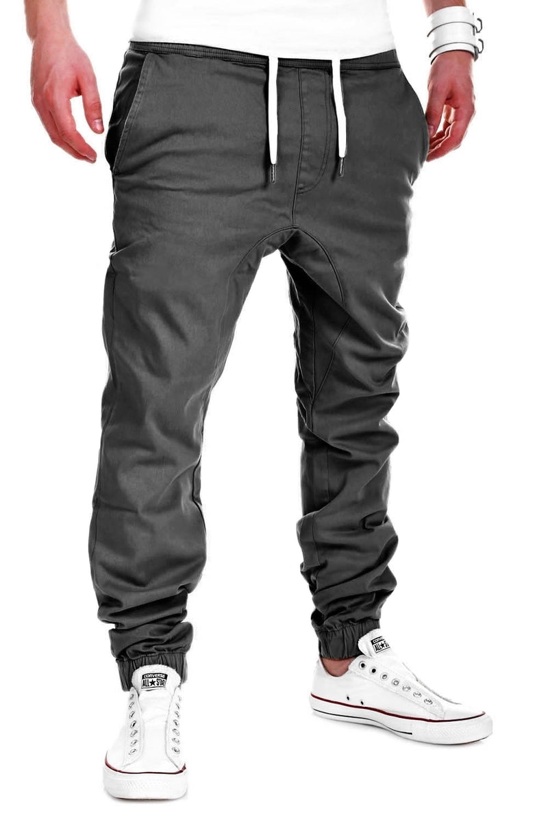 Men's Jogger Chino Pants Darkgrey 60