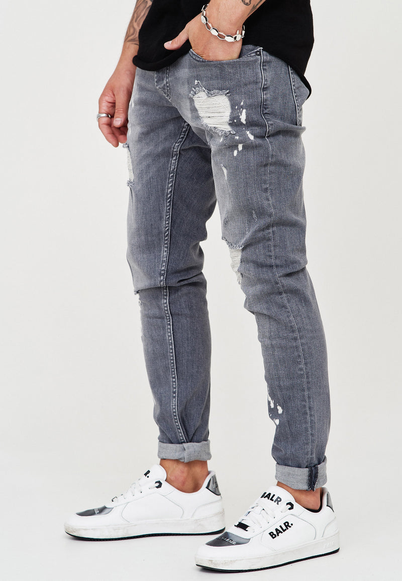 Destroyed Jeans grey 3296