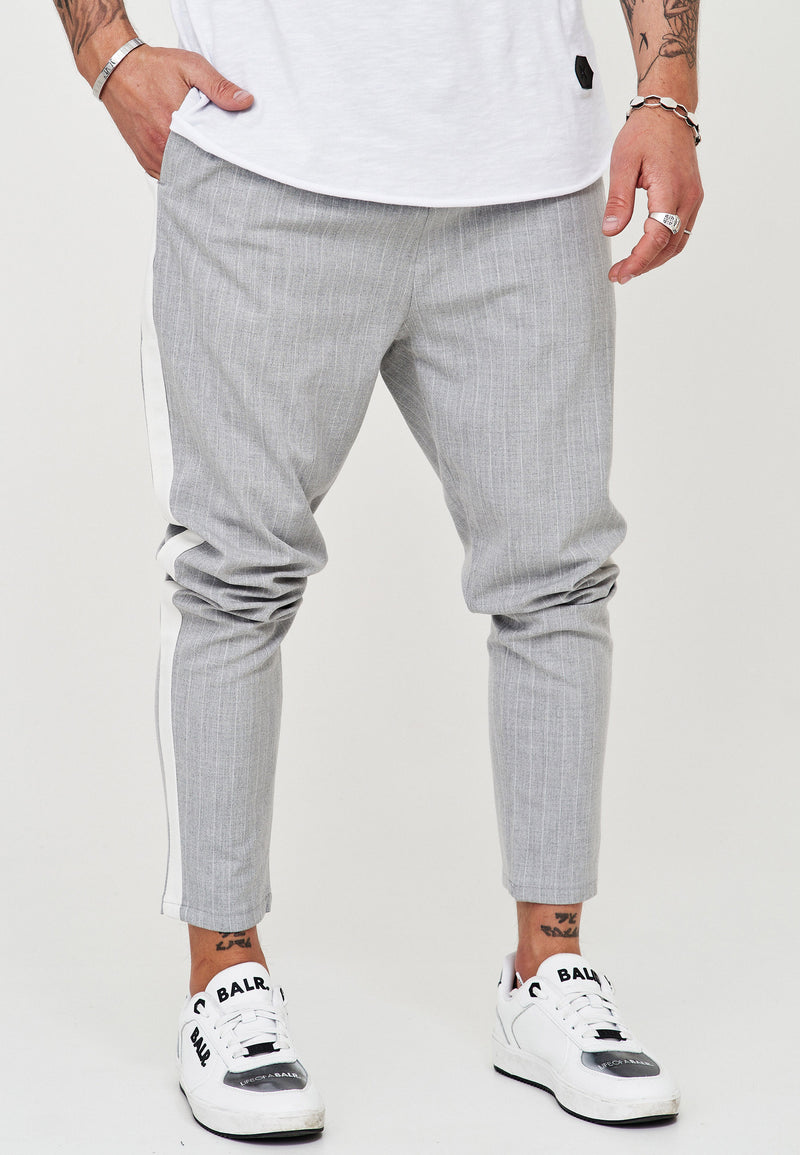 Pants Stripe Slim Fit grey JN-1003