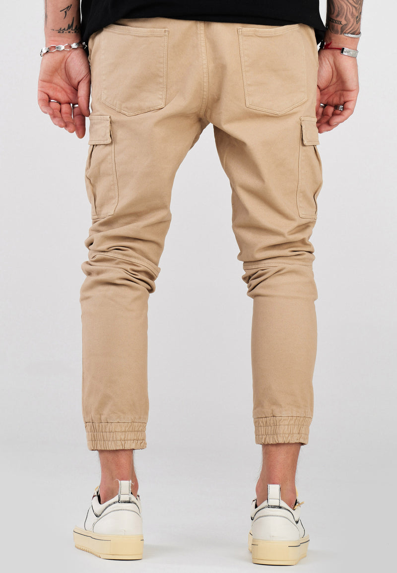 Cargo Jogger Chino Beige 3839