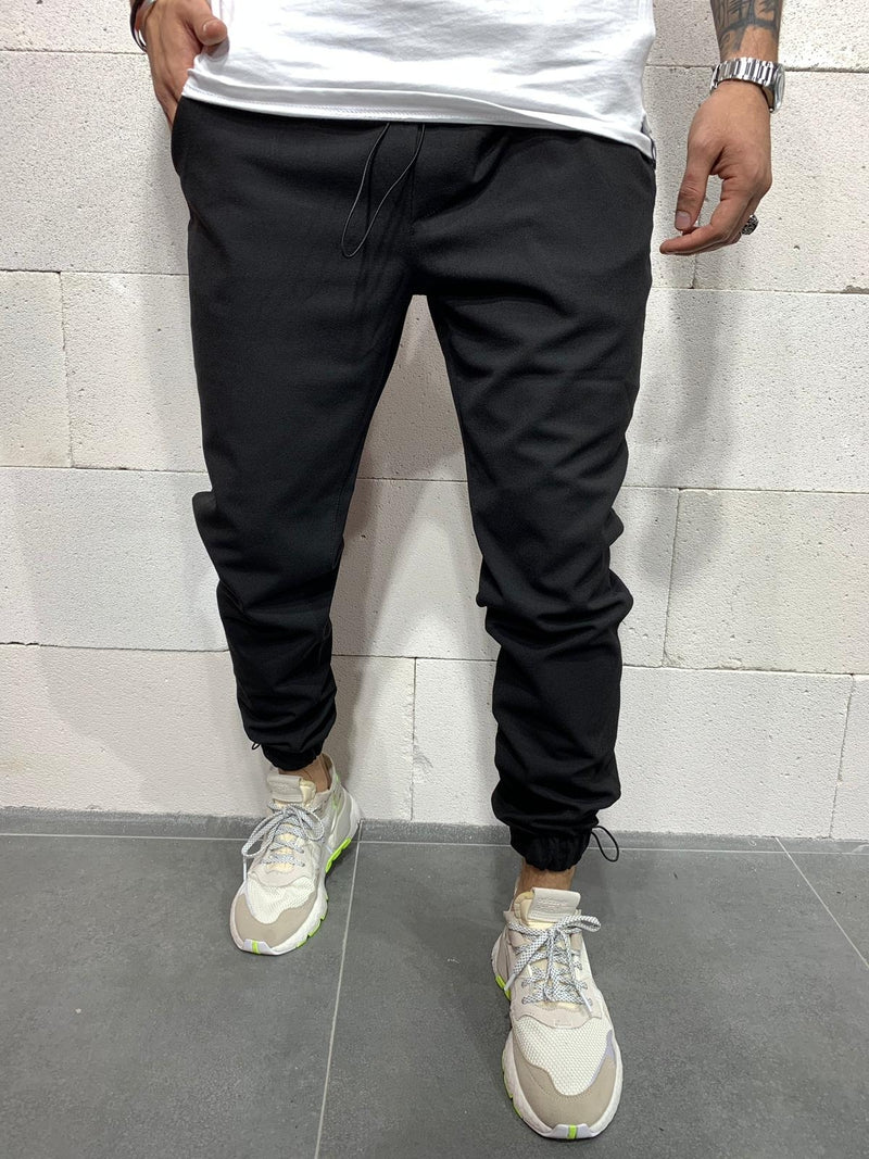 Men's Jogger Pants Black P1046