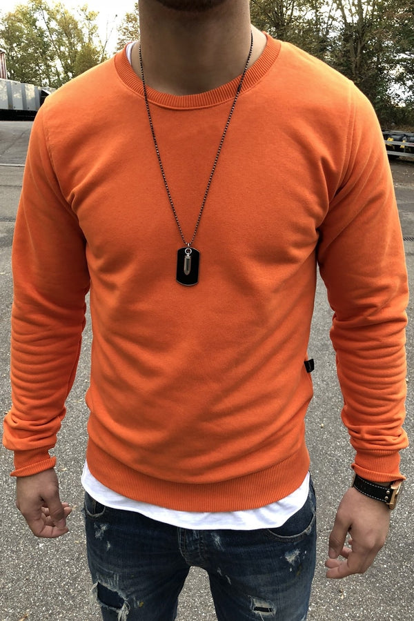 Sweater orange 8026