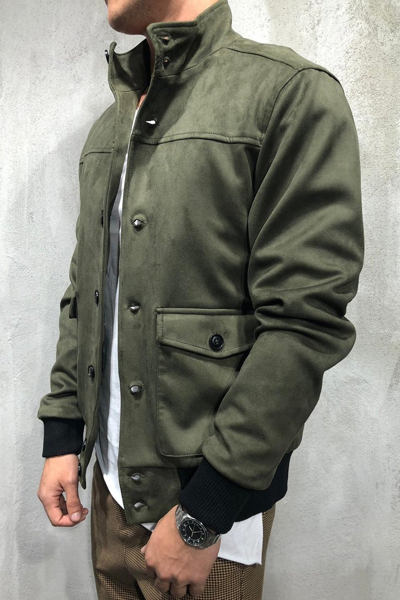 Men's Light Jacket Green/Military 1001