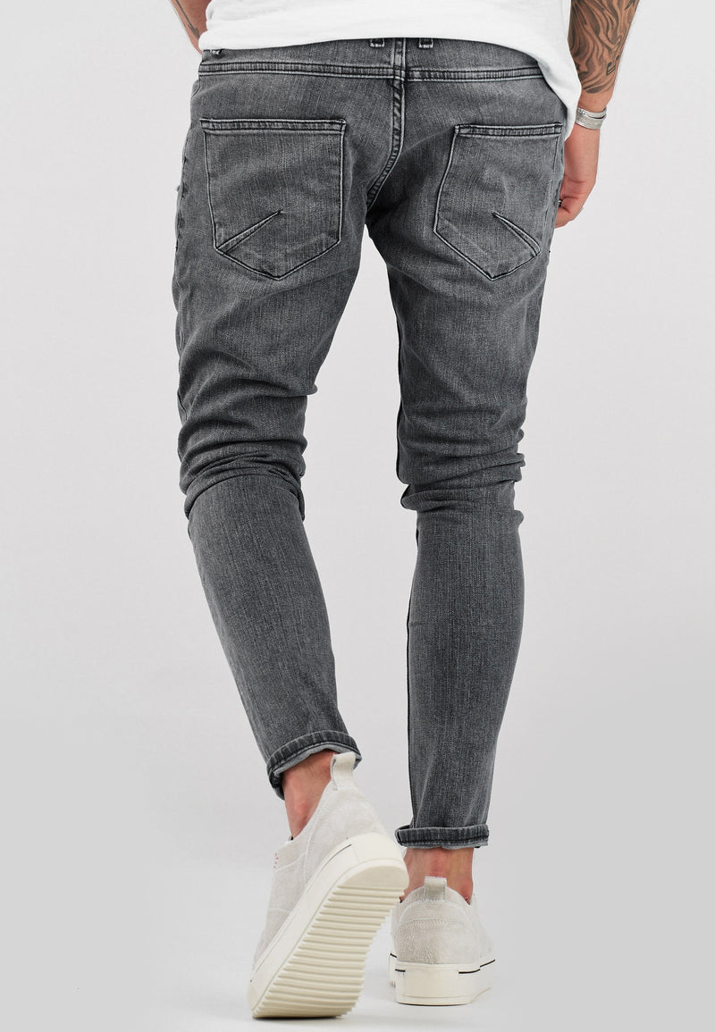 Destroyed Jeans grey 3496