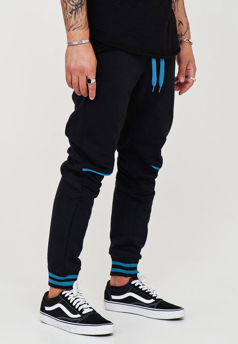 Track Pants black-blue 52