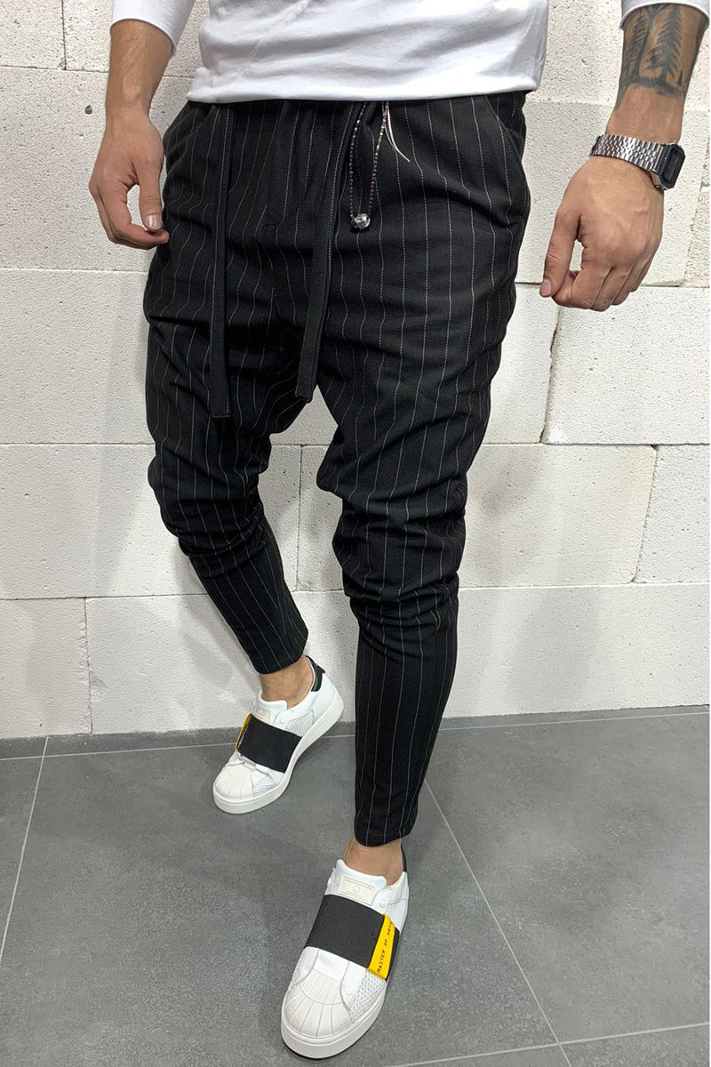 Men's Jogger Pants Black P1048