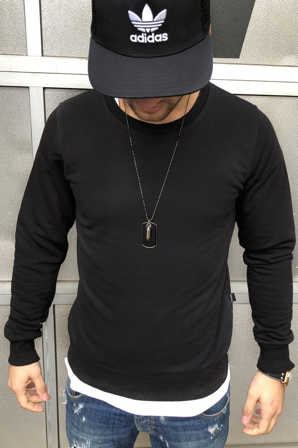 Sweater black 8026