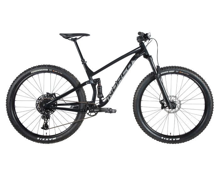 Aluminium dual suspension mountain bikes Norco Fluid FTR