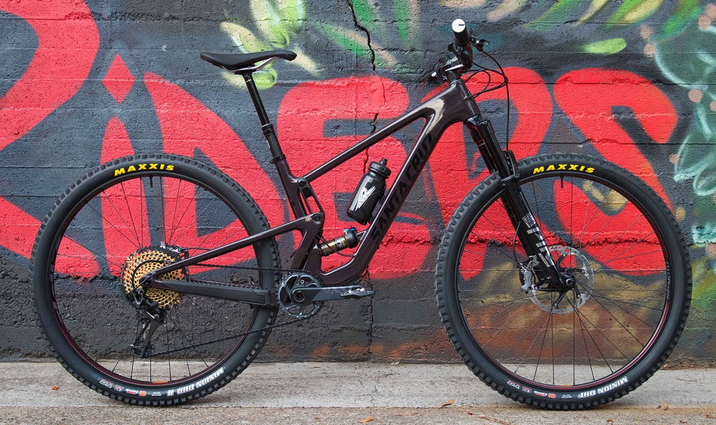 Custom Santa Cruz Tallboy mountain bike Brisbane Australia 2020