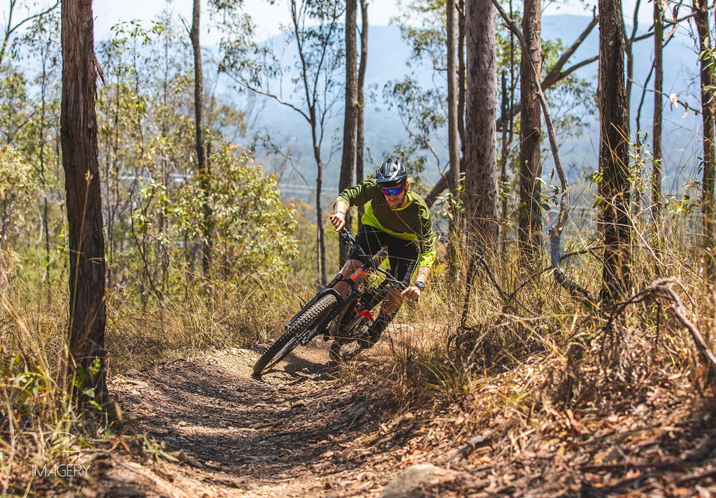 solo mountain bike riding Brisbane For The Riders MTB store