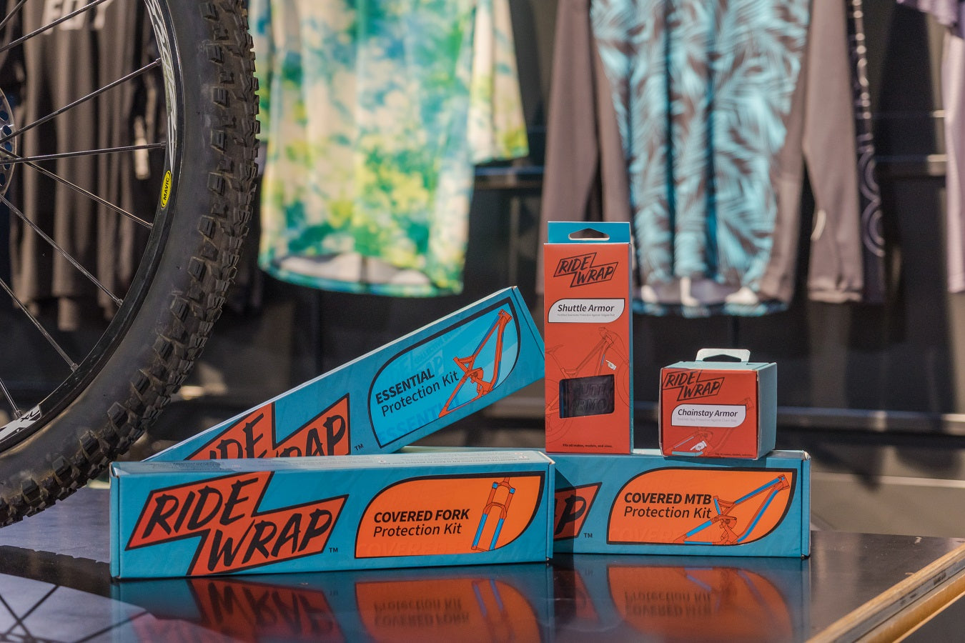 RideWrap Mountain Bike Protection Kit Essential Covered For The Riders